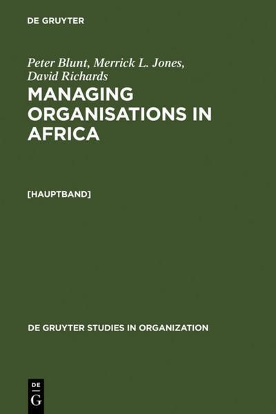 Managing Organisations in Africa
