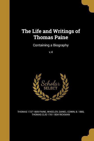 LIFE & WRITINGS OF THOMAS PAIN