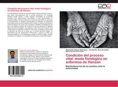 Condición del proceso vital: modo fisiológico en enfermos de Hansen