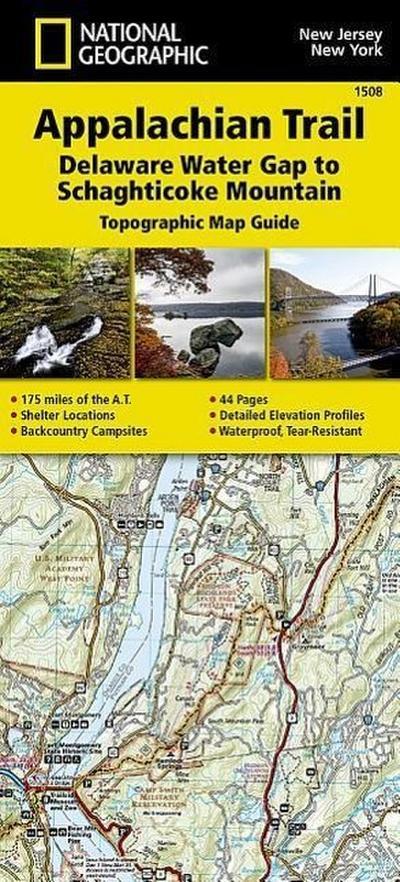 Appalachian Trail, Delaware Water Gap to Schaghticoke Mountain [new Jersey, New York]