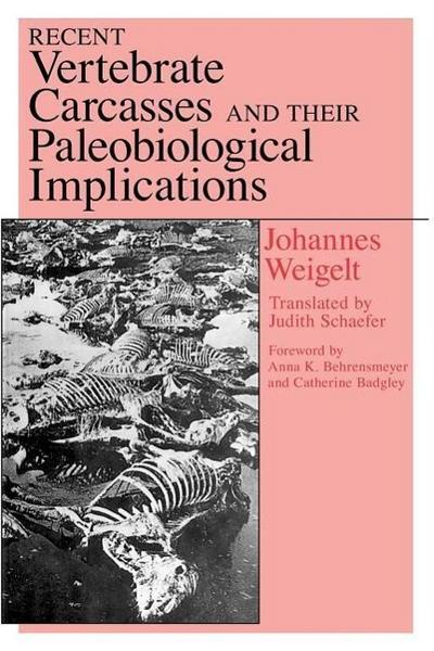Recent Vertebrate Carcasses and Their Paleobiological Implications