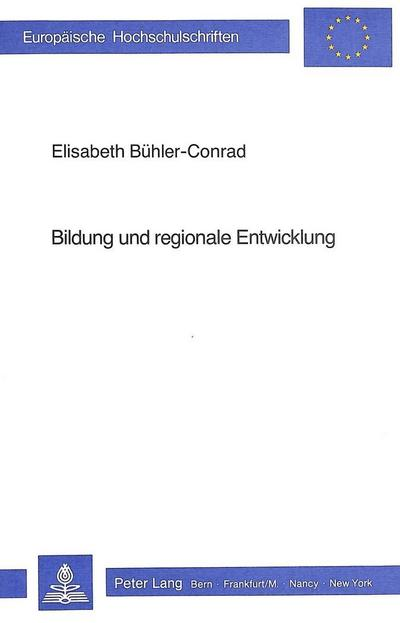 Bildung und regionale Entwicklung