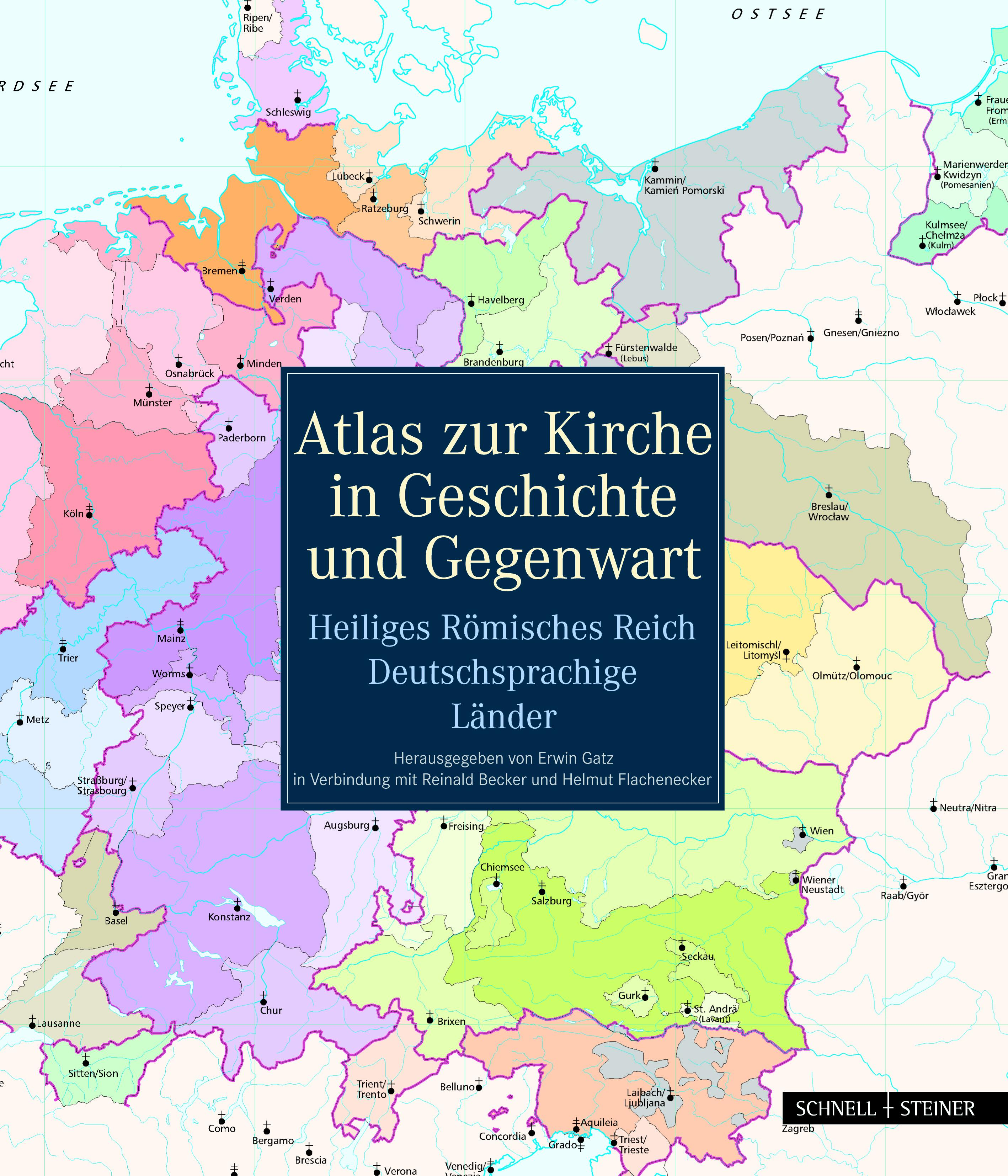 Atlas zur Kirche in Geschichte und Gegenwart, Reinald Becker