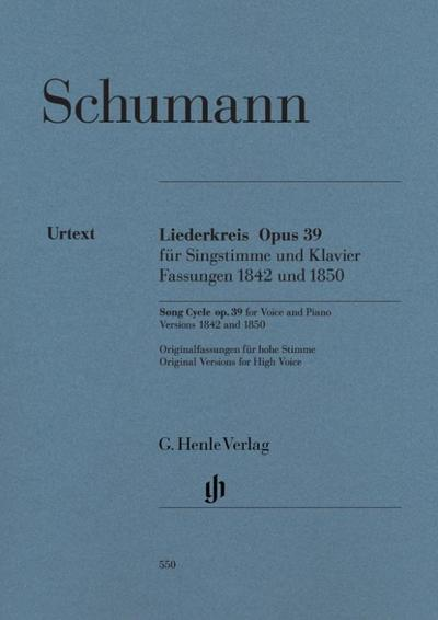 Liederkreis op. 39