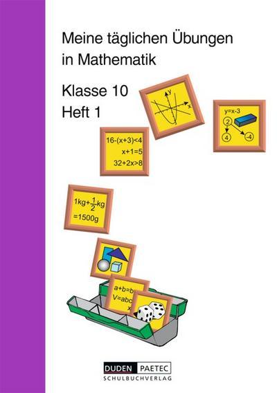 Meine täglichen Übungen in Mathematik, Klasse 10