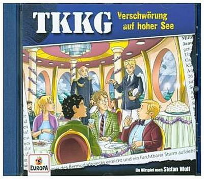 TKKG 204. Verschwörung auf hoher See