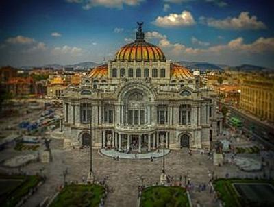 Mexiko Stadt - 500 Teile (Puzzle)