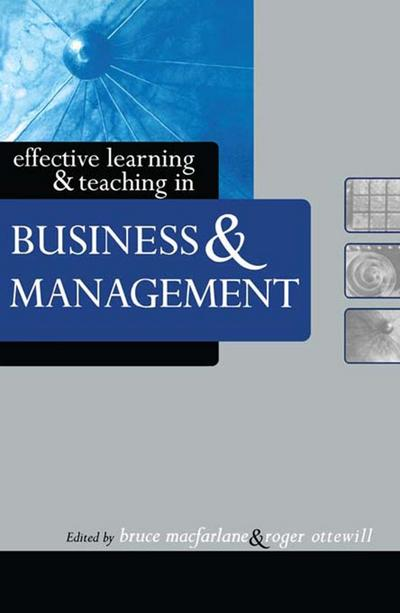 Effective Learning and Teaching in Business and Management