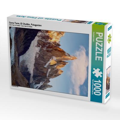 Cerro Torre, El Chaltén, Patagonien (Puzzle)