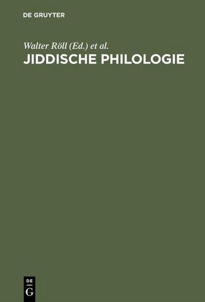 Jiddische Philologie