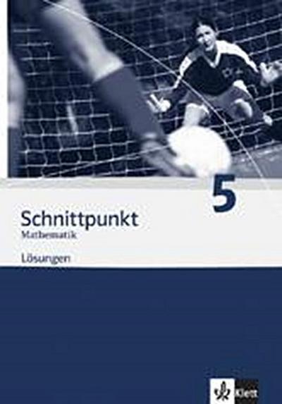 Schnittpunkt Mathematik 5. Ausgabe Baden-Württemberg