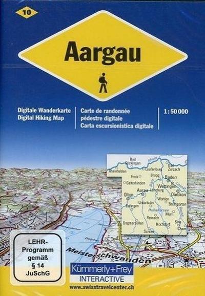 Aargau, 1 DVD-ROM