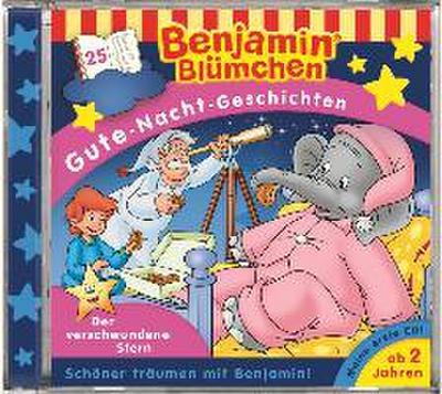 Benjamin Blümchen. Gute-Nacht-Geschichten 25: Der verschwundene Stern