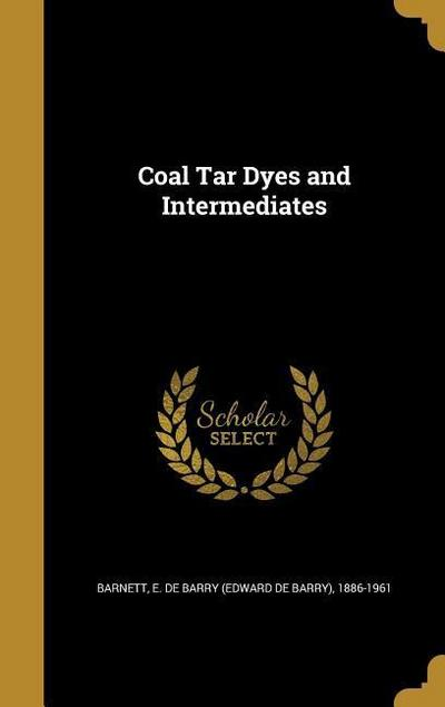 COAL TAR DYES & INTERMEDIATES