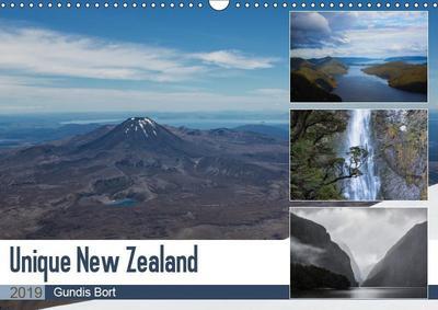 Unique New Zealand (Wall Calendar 2019 DIN A3 Landscape)
