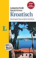 """Langenscheidt Sprachführer Kroatisch - Buch inklusive E-Book zum Thema """"Essen & Trinken"""""""