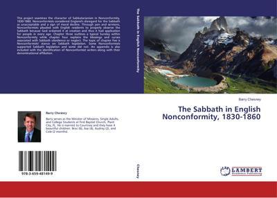 The Sabbath in English Nonconformity, 1830-1860
