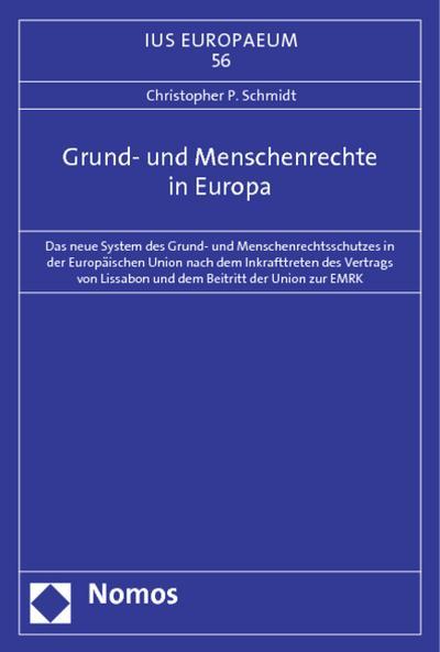 Grund- und Menschenrechte in Europa
