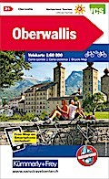 KuF Schweiz Radkarte 21 Oberwallis 1 : 60 000