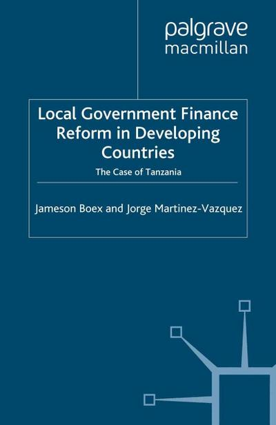 Local Government Financial Reform in Developing Countries