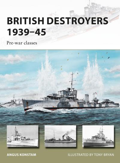British Destroyers 1939-45