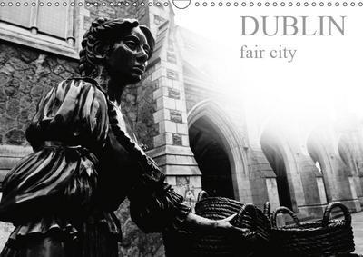 Dublin fair city (Wall Calendar 2019 DIN A3 Landscape)