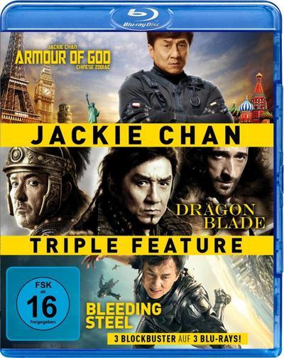 Jackie Chan Triple Feature BLU-RAY Box