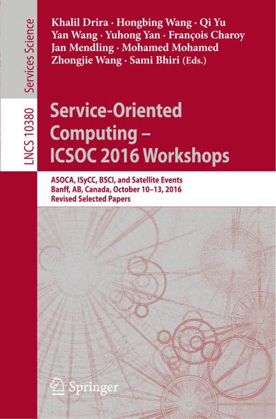 Service-Oriented Computing - ICSOC 2016 Workshops