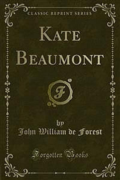 Kate Beaumont