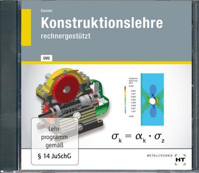 Konstruktionslehre, 1 DVD-ROM