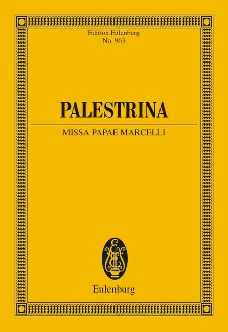 Missa Papae Marcelli Giovanni Pierluigi da Palestrina