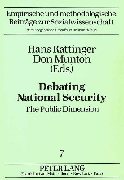 Debating National Security