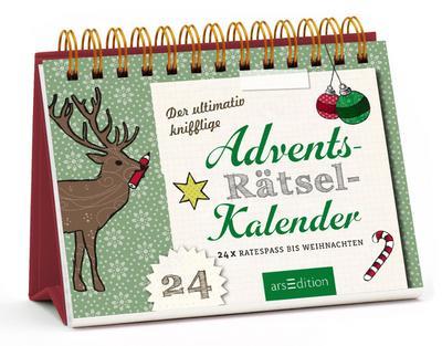 Der ultimativ knifflige Rätsel-Advents-Kalender