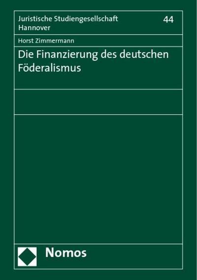 Die Finanzierung des deutschen Föderalismus