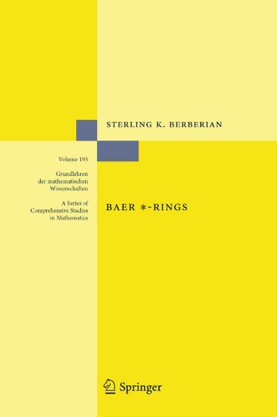 Baer *-Rings
