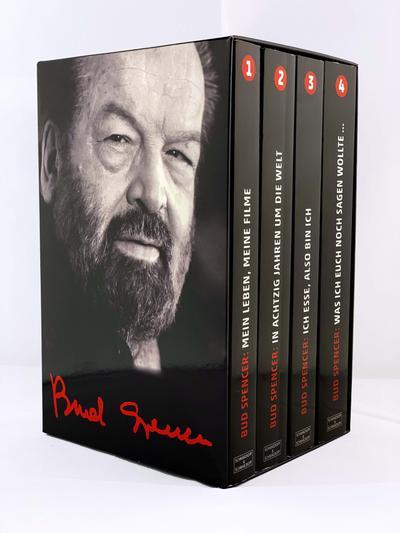 Bud Spencer: Alle vier Bud-Spencer-Paperbacks im Schuber