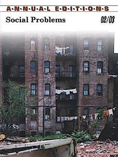 Annual Editions: Social Problems 02/03