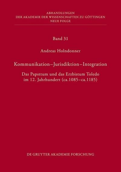 Kommunikation - Jurisdiktion - Integration