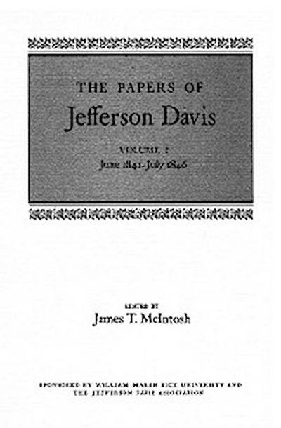 The Papers of Jefferson Davis