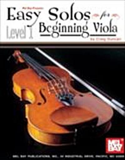 Easy Solos for Beginning Viola