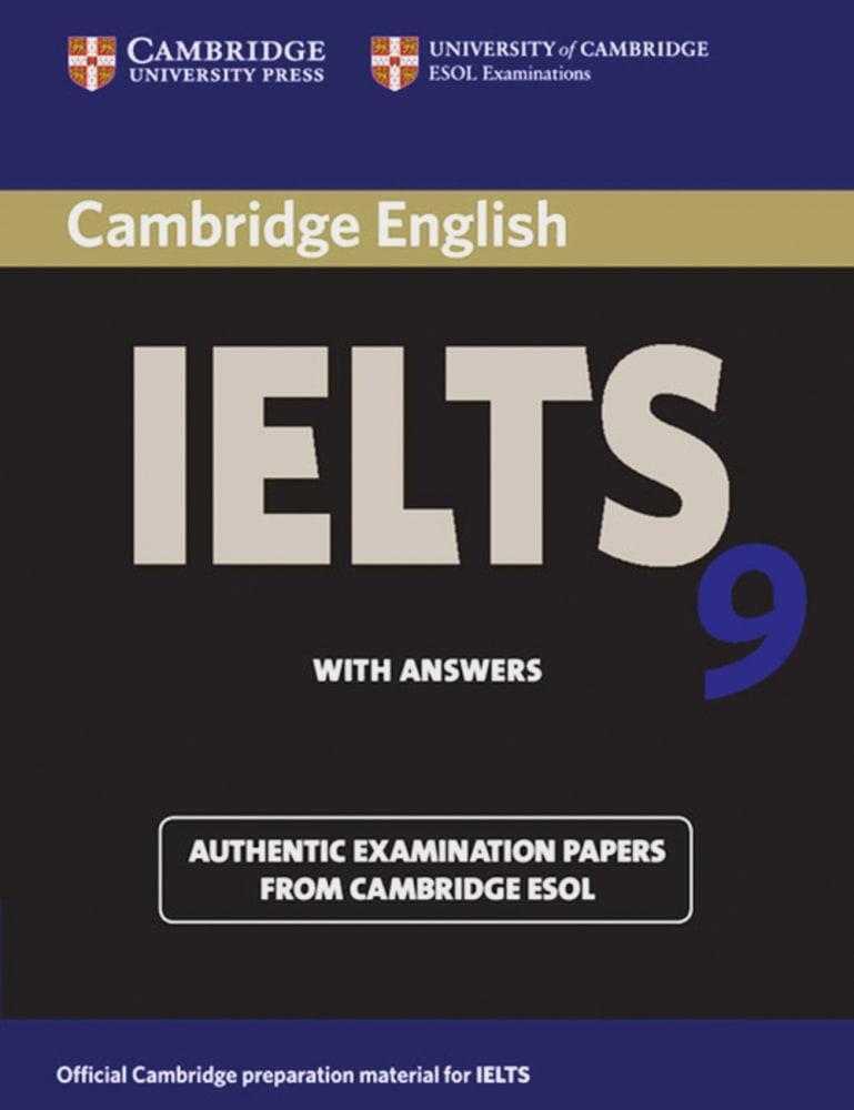Cambridge IELTS 9. Student's Book with answers,