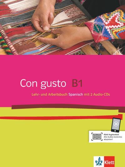 Con gusto B1. Lehr- und Arbeitsbuch mit 2 Audio-CDs