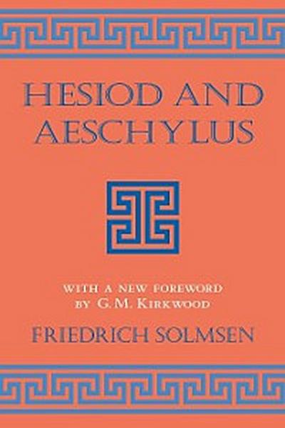 Hesiod and Aeschylus