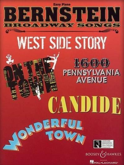 Bernstein Broadway Songs. Klavier.