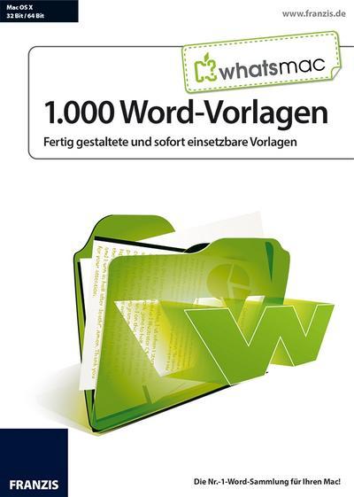 WhatsMac - 1.000 Word-Vorlagen