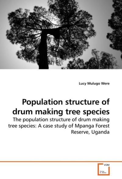 Population structure of drum making tree species