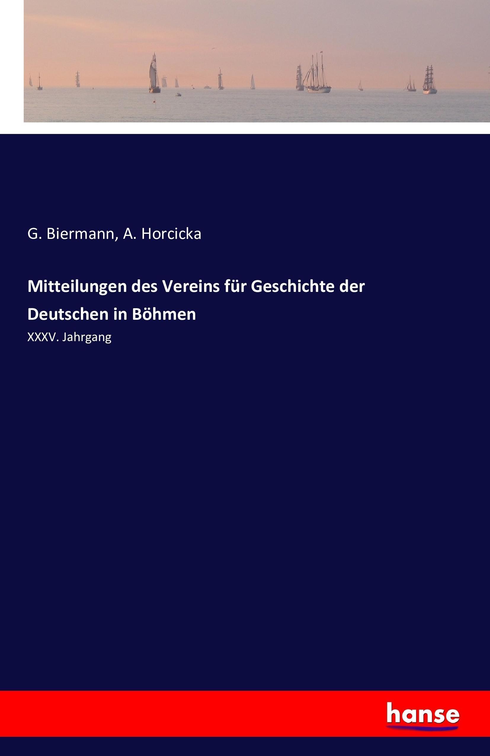 G. Biermann / Mitteilungen des Vereins für Geschichte der Deut ... 9783741195457