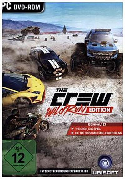 The Crew - Wild Run Edition - [PC] - Ubi Soft - Computerspiel, Deutsch, , Beinhaltet: The Crew, das Spiel. The Crew Wild Run-Erweiterung, Beinhaltet: The Crew, das Spiel. The Crew Wild Run-Erweiterung