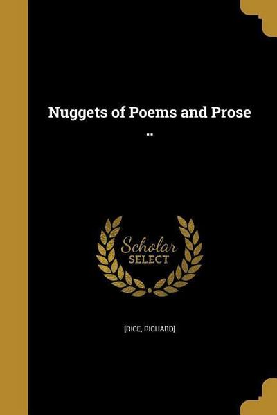 NUGGETS OF POEMS & PROSE