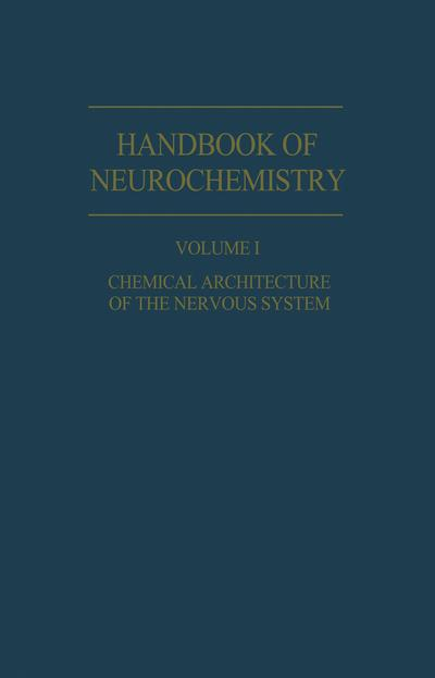 Chemical Architecture of the Nervous System
